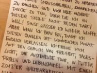 Rockstah: Brief an seine Fans
