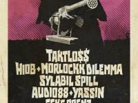 rap.de präsentiert: Taktloss, Hiob, Morlockk Dilemma & Sylabil Spill live