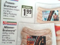Frauen- oder Männerfleisch?