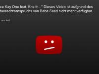 """Baba Saad lässt Video """"Früher"""" von Kay One sperren"""