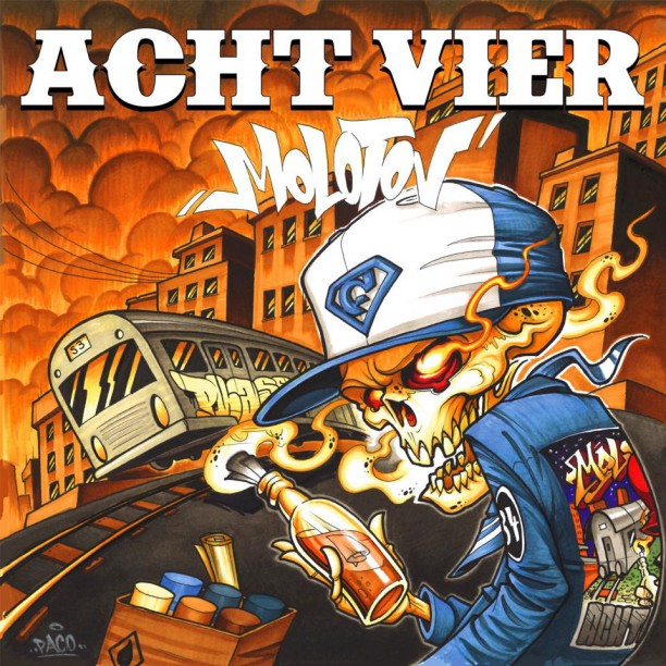 Achtvier Cover