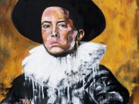 Künstler malt Eminem, 2Pac und Jay-Z im Stil des 17. Jahrhunderts