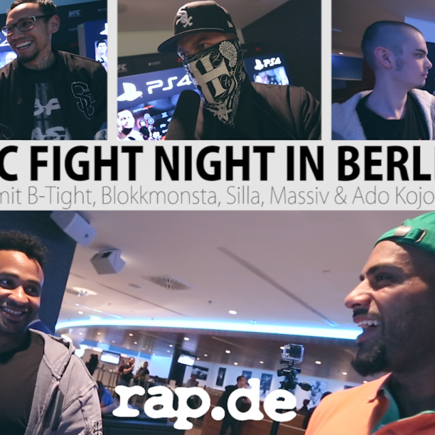 UFC FIGHT NIGHT BERLIN rapde