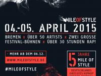 Mile of Style: LineUp veröffentlicht