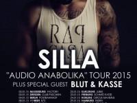 """rap.de präsentiert: Silla & Blut & Kasse auf """"Audio Anabolika""""-Tour"""