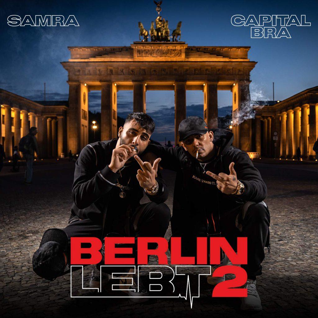 """Berlin lebt 2"": Capital Bra & Samra mit Cover und Releasedate - rap.de"
