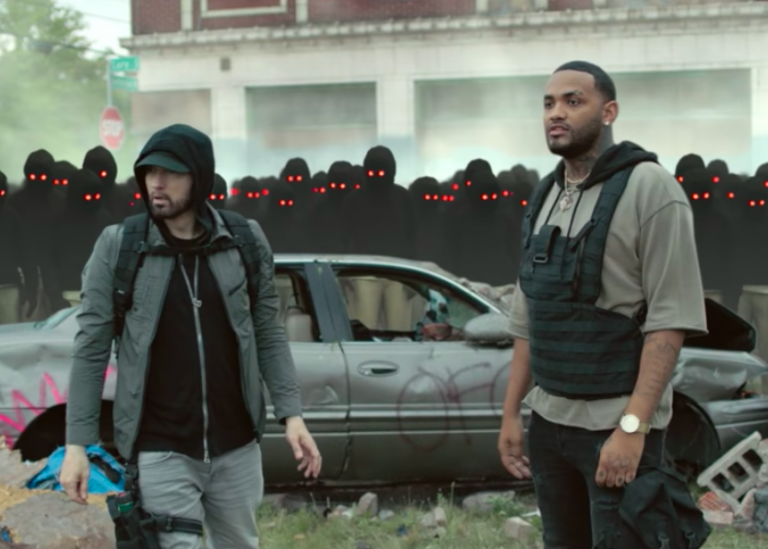 Eminem – Lucky You feat. Joyner Lucas [Video]
