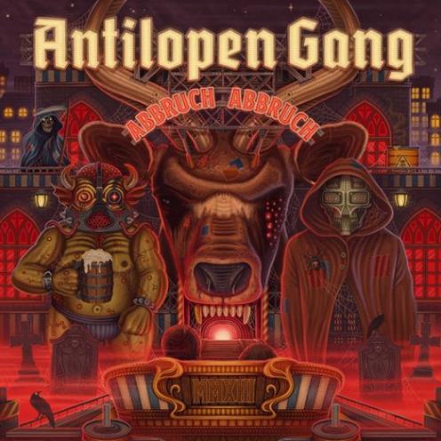 """""""Abbruch Abbruch"""": Neues Album der Antilopen Gang Anfang 2020 - rap.de"""