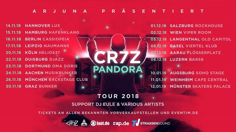 Rapde Präsentiert Die Pandora Tour Von Cr7z Rapde