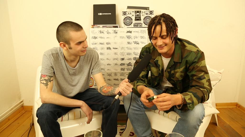 Interview mit Danju über Stoned ohne Grund [rap.de-TV