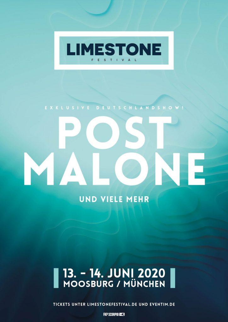 rap.de präsentiert: Das Limestone Festival 2020 mit Post Malone - rap.de